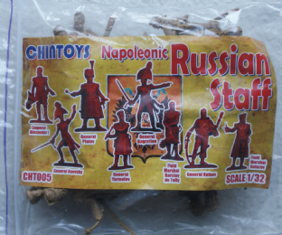 Chin Toys 1/32 CT005 Russian Staff (Napoleonic)